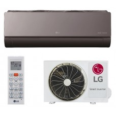 фото Кондиционер LG ARTCOOL Mirror Black inverter AM09BP.NSJRO/AM09BP.UA3RO Купить